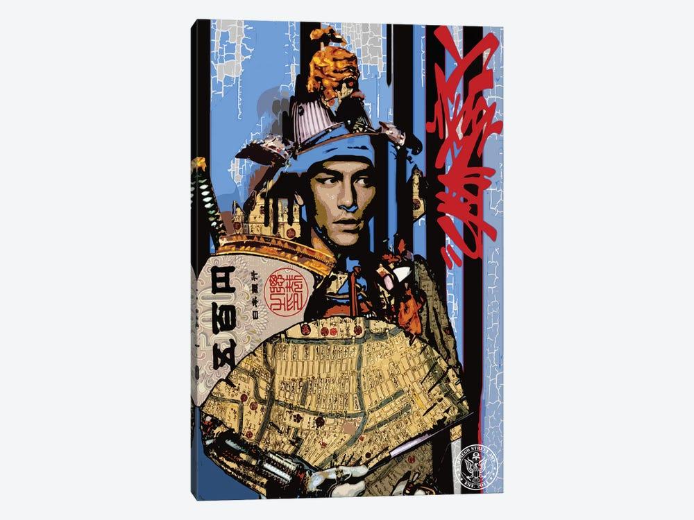 Blue Samurai by D13EGO 1-piece Canvas Art
