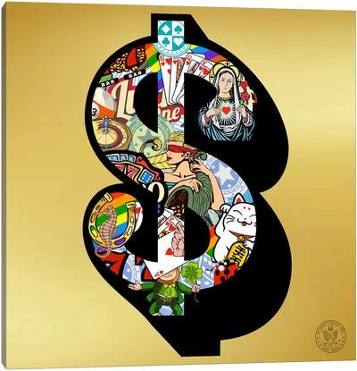 Lucky Dollar Canvas Art Print