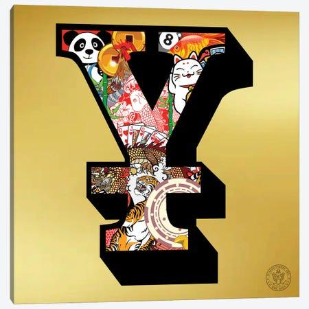 Lucky Yen Canvas Print #DEG52} by D13EGO Canvas Art Print