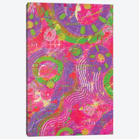 Another Time Abstract Canvas Print #DEI8} by Deidre Mosher Canvas Artwork
