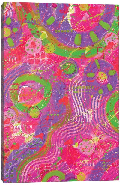 Another Time Abstract Canvas Art Print