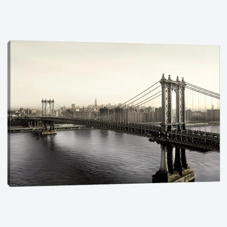 Vintage Manhattan Canvas Print #DEL110} by Danita Delimont Canvas Art Print