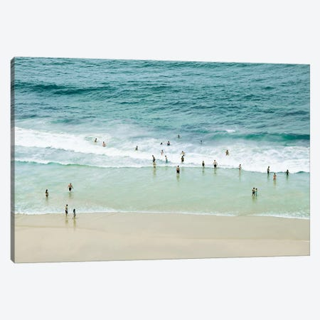 Paradise Beach Canvas Print #DEL113} by Danita Delimont Art Print