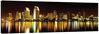 San Diego Skyline Canvas Art Print