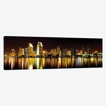 San Diego Skyline Canvas Print #DEL116} by Danita Delimont Canvas Artwork