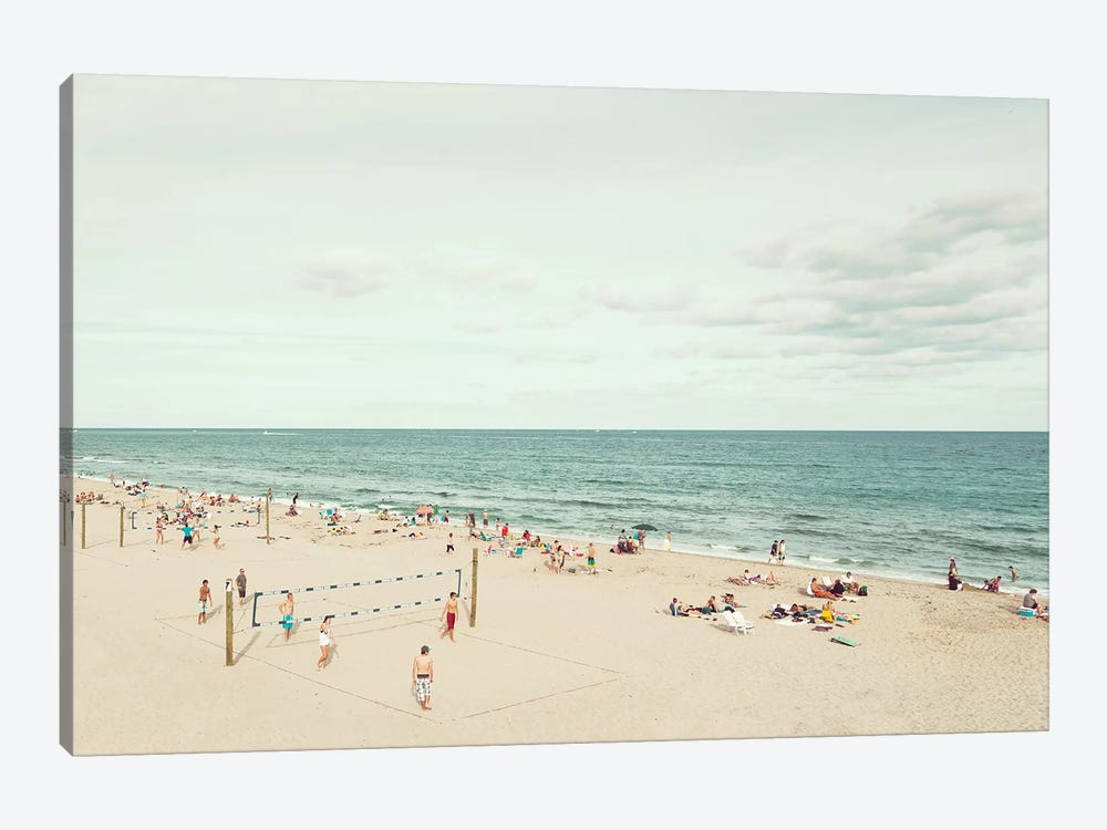 Day At The Beach by Danita Delimont 1-piece Canvas Wall Art
