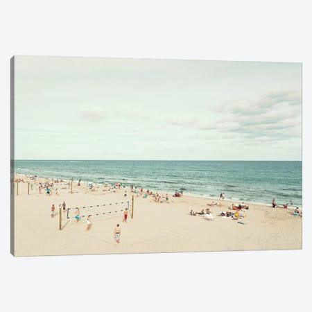 Day At The Beach Canvas Print #DEL123} by Danita Delimont Canvas Art