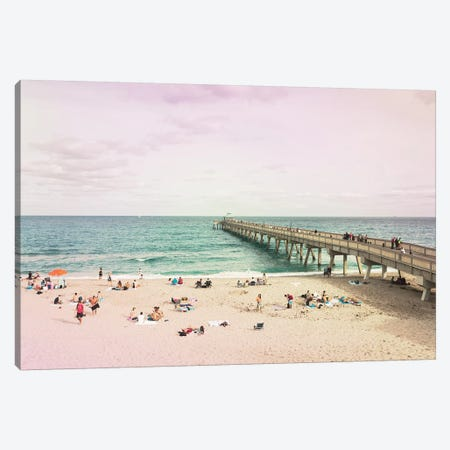 Deerfield Beach Canvas Print #DEL124} by Danita Delimont Canvas Print