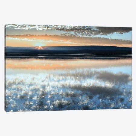 Serene Sunrise 3-Piece Canvas #DEL138} by Danita Delimont Art Print
