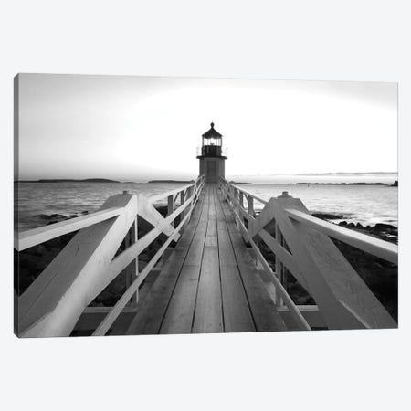 Marshall Point Lighthouse Canvas Print #DEL163} by Danita Delimont Canvas Artwork