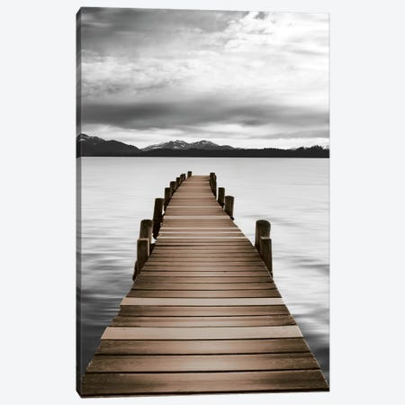 Mountain Jetty Canvas Print #DEL165} by Danita Delimont Art Print