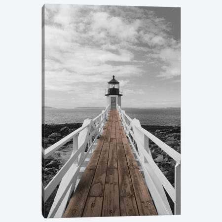 Port Clyde Lighthouse Canvas Print #DEL167} by Danita Delimont Art Print