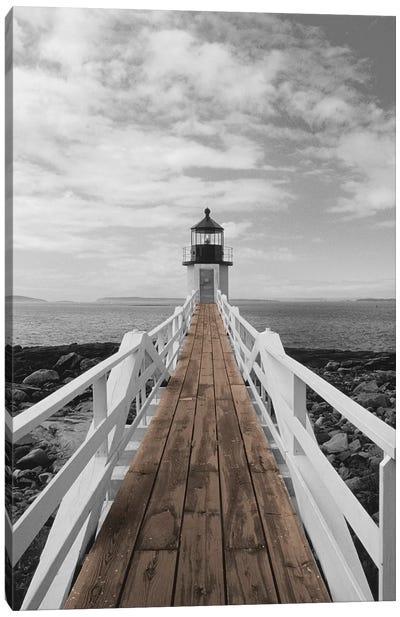 Port Clyde Lighthouse Canvas Art Print