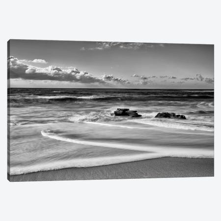 Whispering Sands Beach 3-Piece Canvas #DEL170} by Danita Delimont Canvas Print