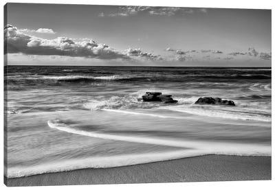 Whispering Sands Beach Canvas Art Print