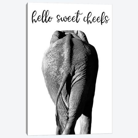 Elephant Bum Canvas Print #DEL173} by Danita Delimont Art Print