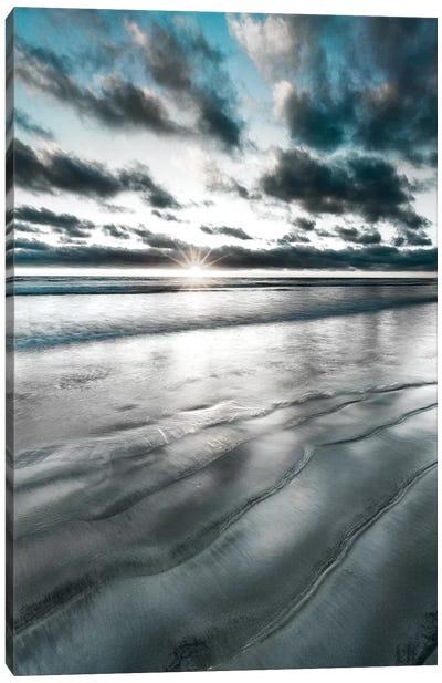 Silver Sun Canvas Art Print