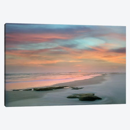 Sunset at Matanzas Beach Canvas Print #DEL24} by Danita Delimont Canvas Wall Art