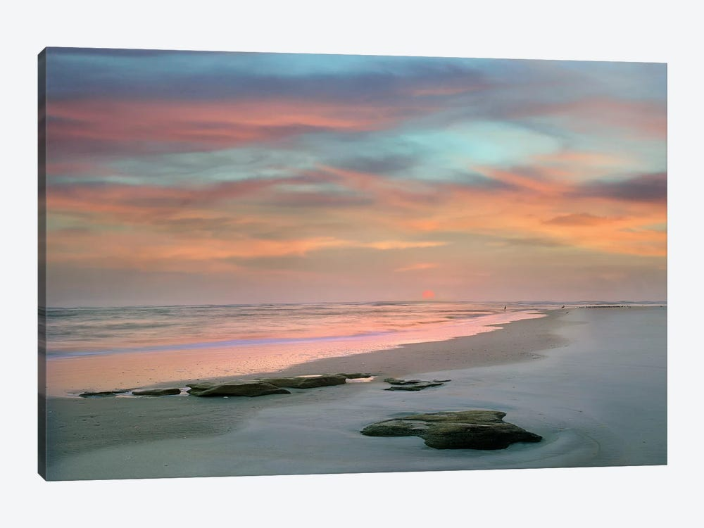 Sunset at Matanzas Beach by Danita Delimont 1-piece Art Print
