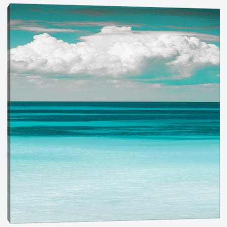 Teal Bay Canvas Print #DEL25} by Danita Delimont Canvas Wall Art