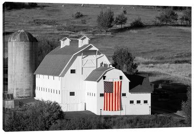 American Farmhouse Canvas Art Print