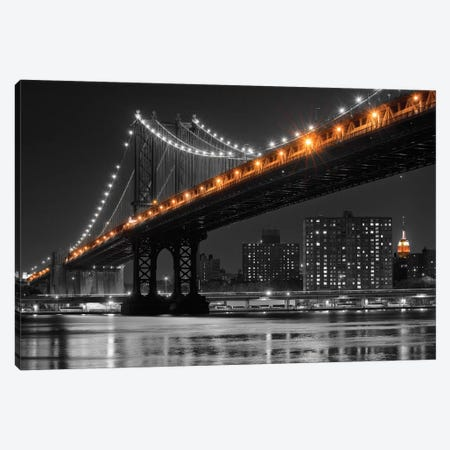 East River Reflection Canvas Print #DEL32} by Danita Delimont Canvas Art