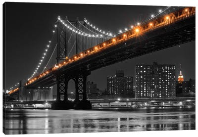 East River Reflection Canvas Art Print