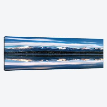 El Capitan Over Merced River Canvas Print #DEL33} by Danita Delimont Canvas Wall Art