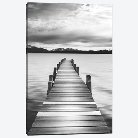 Jetty Black & White Canvas Print #DEL35} by Danita Delimont Canvas Art Print