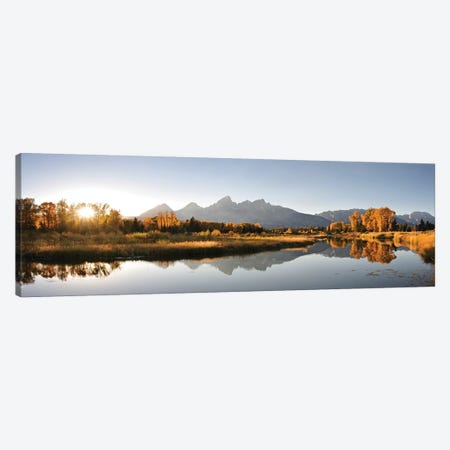 Landing On Snake River Canvas Print #DEL37} by Danita Delimont Canvas Print