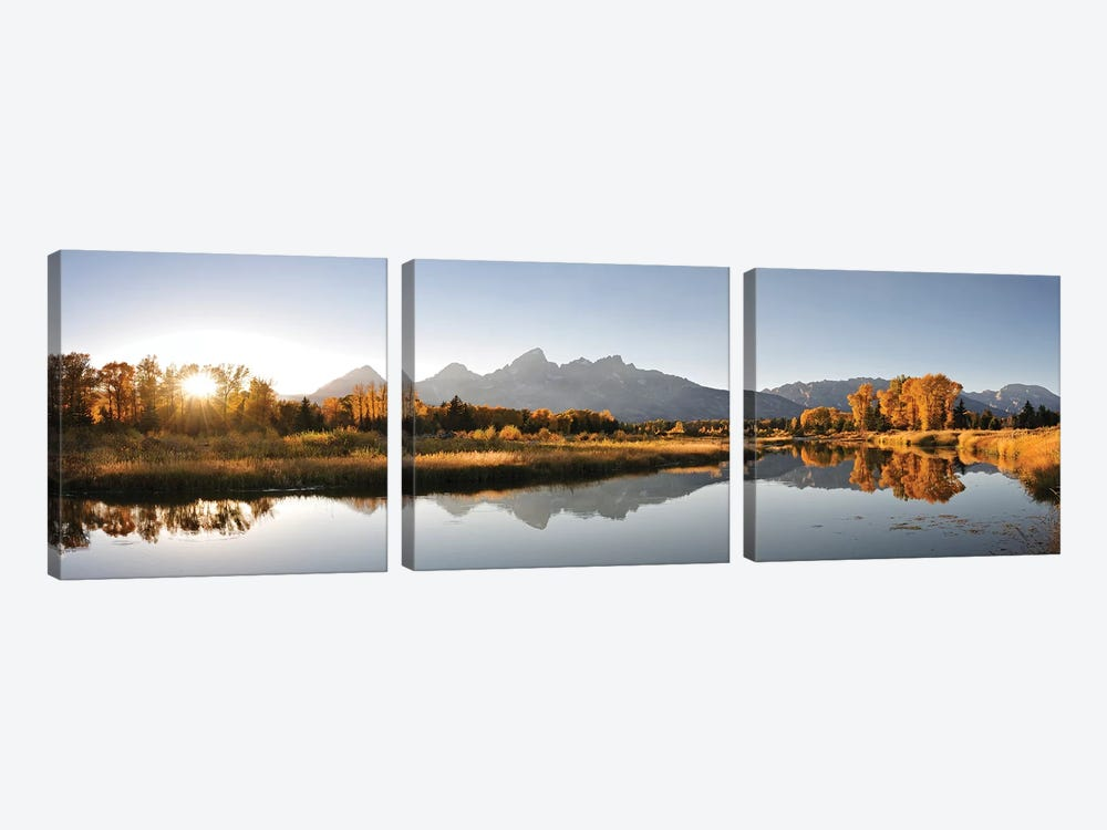 Landing On Snake River by Danita Delimont 3-piece Canvas Art Print