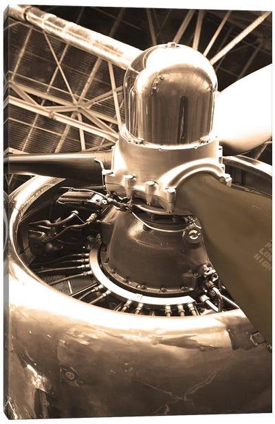 DC 4 Aircraft Canvas Print #DEL3