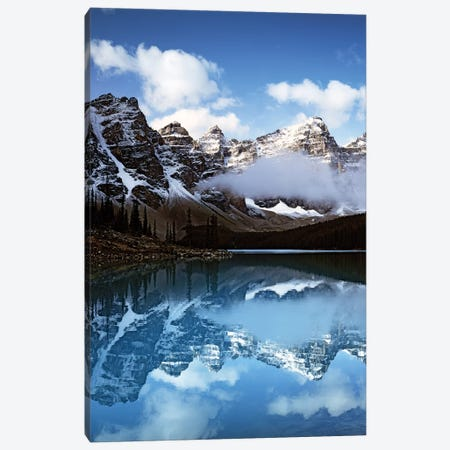 Valley Of Ten Peaks Canvas Print #DEL47} by Danita Delimont Canvas Art