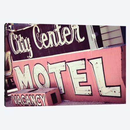 City Center Motel Canvas Print #DEL50} by Danita Delimont Canvas Art