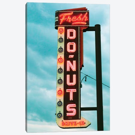 Fresh Donuts Canvas Print #DEL52} by Danita Delimont Canvas Artwork