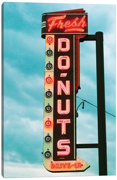 Fresh Donuts Canvas Art Print