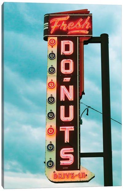Fresh Donuts Canvas Art Print
