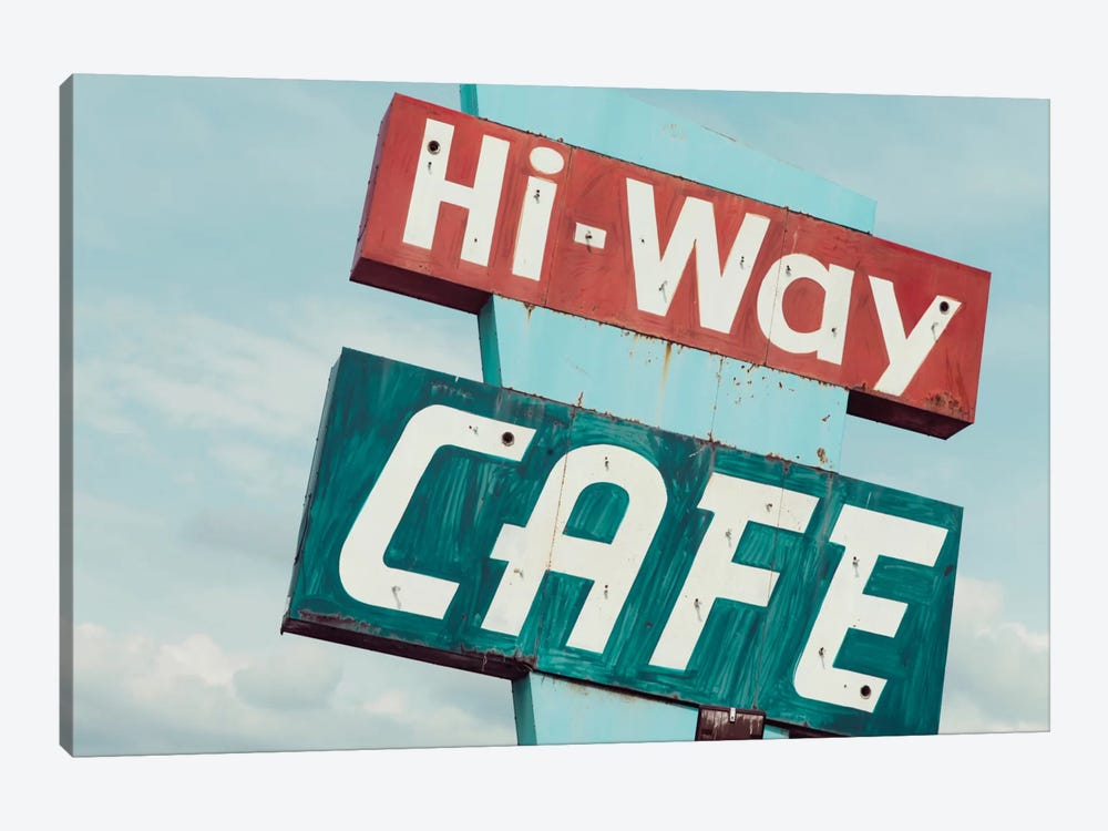 Hi-Way Café 1-piece Canvas Print