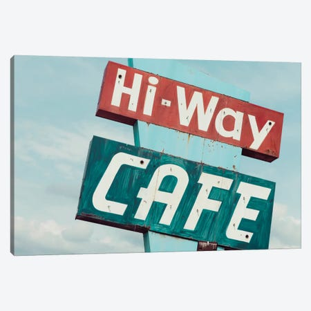 Hi-Way Café Canvas Print #DEL53} by Danita Delimont Canvas Wall Art