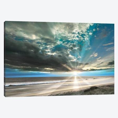 Pacific Coast Sunset Canvas Print #DEL54} by Danita Delimont Canvas Art Print
