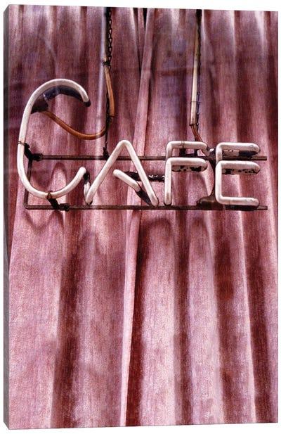 Retro Café Canvas Art Print