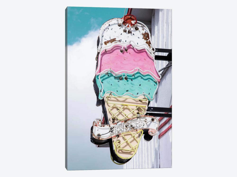 Retro Ice Cream by Danita Delimont 1-piece Canvas Wall Art