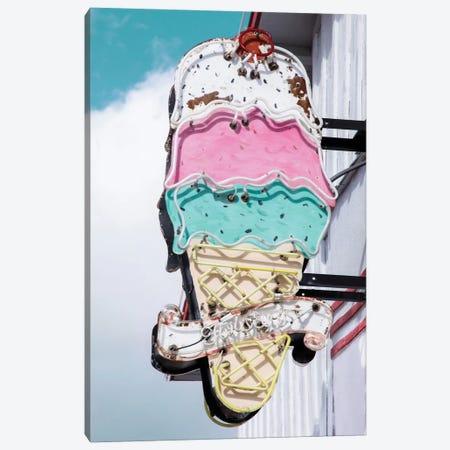 Retro Ice Cream Canvas Print #DEL58} by Danita Delimont Canvas Art
