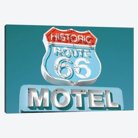 Retro Route 66 Canvas Print #DEL59} by Danita Delimont Canvas Wall Art