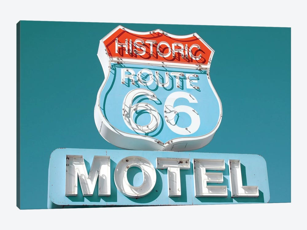 Retro Route 66 by Danita Delimont 1-piece Canvas Print