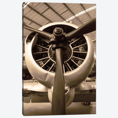 WW II Fighter Canvas Print #DEL5} by Danita Delimont Canvas Wall Art