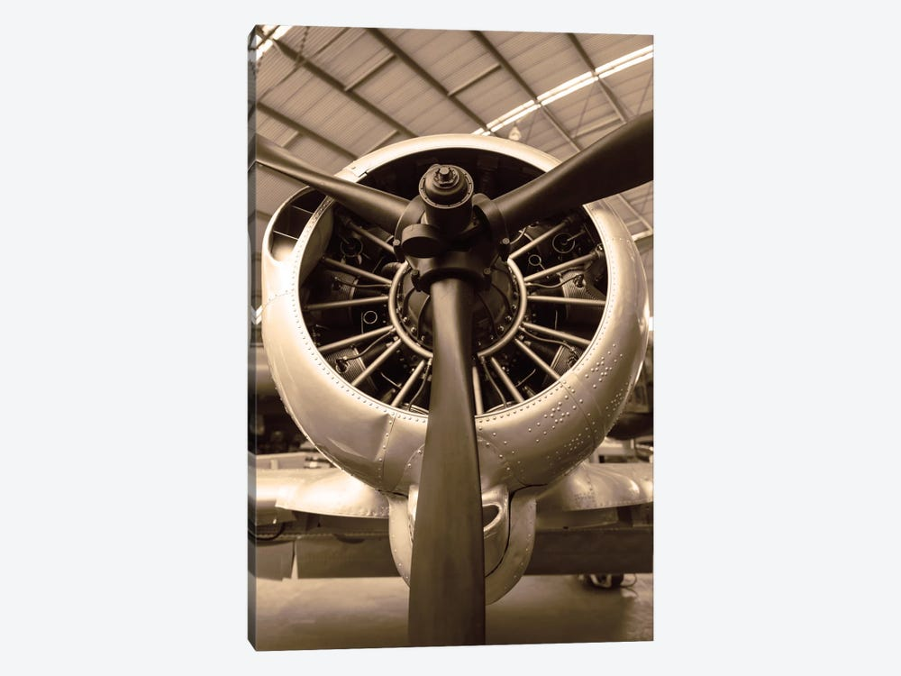 WW II Fighter by Danita Delimont 1-piece Canvas Artwork