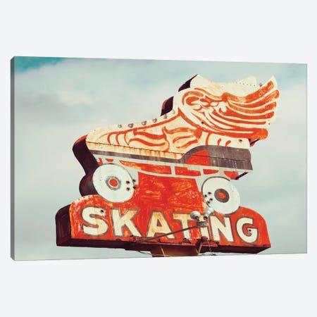 Retro Skating Canvas Print #DEL60} by Danita Delimont Canvas Print