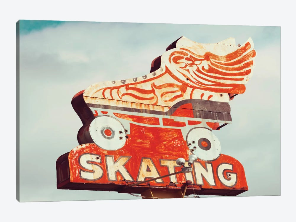 Retro Skating by Danita Delimont 1-piece Canvas Art Print