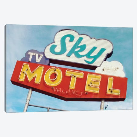 Sky Motel Canvas Print #DEL62} by Danita Delimont Canvas Art Print